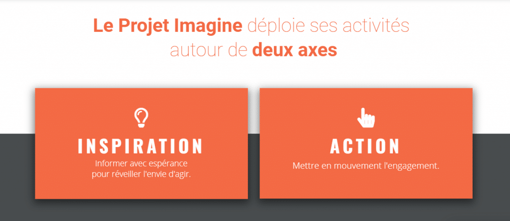 le projet imagine